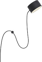 Post Wall light with plug - / LED - Adjustable