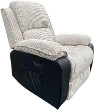 Postana Manual Armchair in Jumbo Cord Fabric
