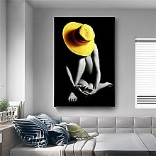 Poster and Prints Artwork Sexy Nude Woman Canvas