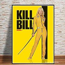Poster Classic Nostalgic Movie Kill Bill Wall Art