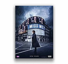 Poster Tv Series Sherlock Movie Canvas Painting