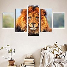 Posters & Prints 5 Piece Stretched And Framed 5