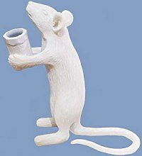 Postmodern Resin Animal Rat Mouse Table Lamp Small