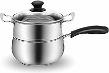 Pot 18 cm Soup Stock 304 Stainless Steel Milk