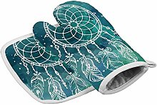 Pot Holders Sets Painting Abstract Dream Catcher