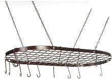 Pot Rack Ceiling Mount Cookware Rack Hanging