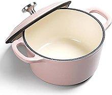 Pot Soup Pot 16cm Cast Iron Enamel Casserole