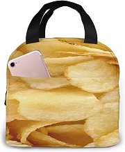 Potato Chips 43 Portable Insulated Lunch Bag,