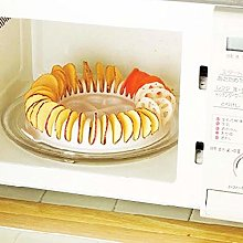 Potato Chips Baking Tray Microwave Oven Fat Free
