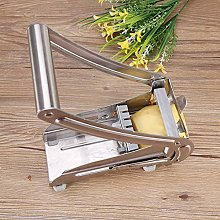 Potato Cutter, Silver Fries Slicer Made of 304