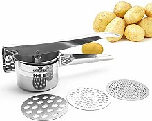Potato Ricer Fruit and Vegetable Masher with 3