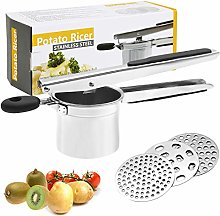 Potato Ricer, LinStyle Multifunctional Fruit and