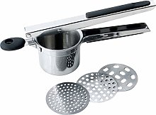 Potato Ricer Masher with 3 Interchangeable