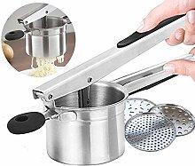 Potato Ricer Set with 3 Interchangeable Discs