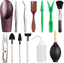 Potted conventional gardening kit, 13 piece set,