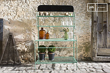 Potting shelf industrial table