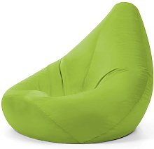 Pouf sofa, 75 x 85 cm, accessories, glossy, for