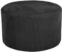 Pouffe Leitmotiv Upholstery Colour: Black
