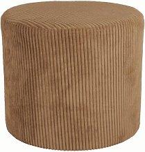 Pouffe Leitmotiv Upholstery Colour: Brown