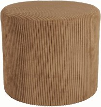 Pouffe Leitmotiv Upholstery Colour: Brown