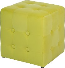 Pouffe Yellow WISCONSIN