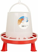 Poultry Feeder with Studs 8 kg/10 L - Duvo+