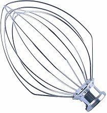 Poweka K5AWW Wire Whisk for Kitchen Aid 18.5 cm