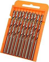 Power Drill Bits Durable 10pcs/Box Drill Bits