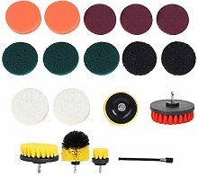 Power Scrubber Brush, Cleaning Brush Set, 18Pcs