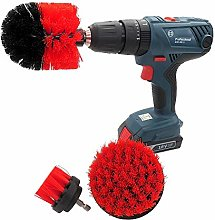 Power Scrubber Cleaning Kit Drill Brush Attachment