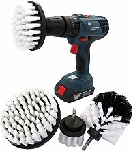 Power Scrubber Cleaning Kit Drillbrush Automotive
