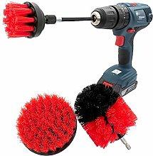 Power Scrubber Convenient 4 Piece Scrub Brush