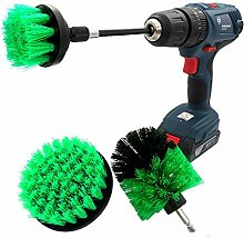Power Scrubber Convenient Drill Brush 4 Pack Power