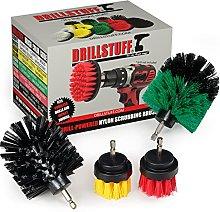 Power Scrubbing Brush - Cordless Drill Attachment