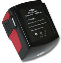 POWER TOOL BATTERY 3000mAh for Hilti SF 144-A CPC