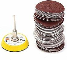 Power Tool Sanding Discs Parts 60Pcs Set 2 Inch