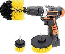 Powerful High Efficiency 3PCS Drill Brush Set