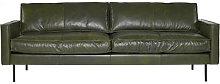 Ppno.1 Straight sofa - / Leather - 3 seats -  L