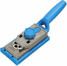 PPocket Hole Jig Round Wood Tenon Locator Drilling