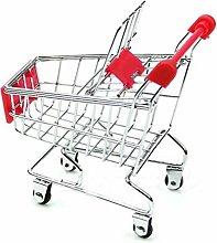 Pppby 1 Piece Mini Supermarket Handcart Sundries