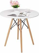 PQXOER Coffee Tables Round Table Modern Coffee