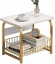 PQXOER Coffee Tables Sofa Side Cabinet Small