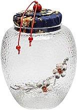 Practical Coffin Adult Unique Cremations Glass Jar