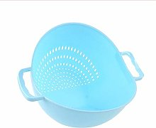 Practical Double Handle Wash Rice Vegetable Basket