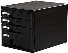 Practical Filing Cabinet 4-layer Storage Design