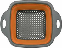 Practical Foldable Square Draining Basket