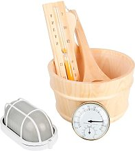 Practical Sauna Tool Bucket Durable for Bathroom
