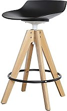 Practical Stool Dining Chair Nordic Solid Wood Bar