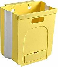 Practical Wall-Mounted Foldable Garbage Bin Waste