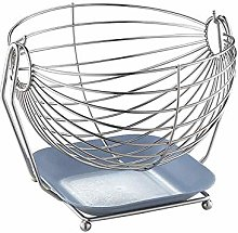 Practical Wire Basket, Wire Bowl for Fruits